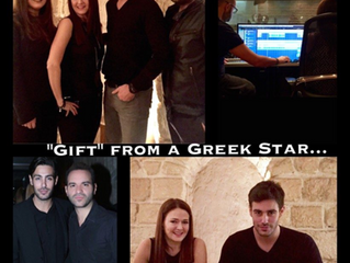 """""""Gift"""" from a Greek Star #BlogSeven #AlysiaHelming #RealLifeStory"""