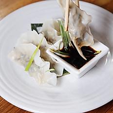 Hijiki Fish Dumpling