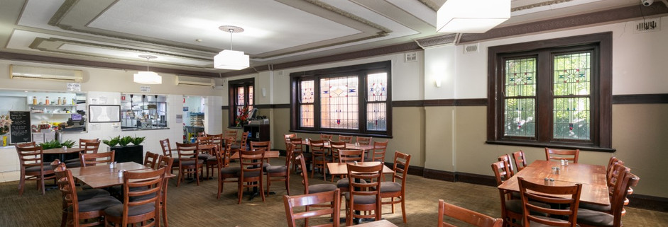 Eatons Hotel 2018 dining room