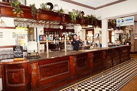 Eatons Hotel side bar 2021