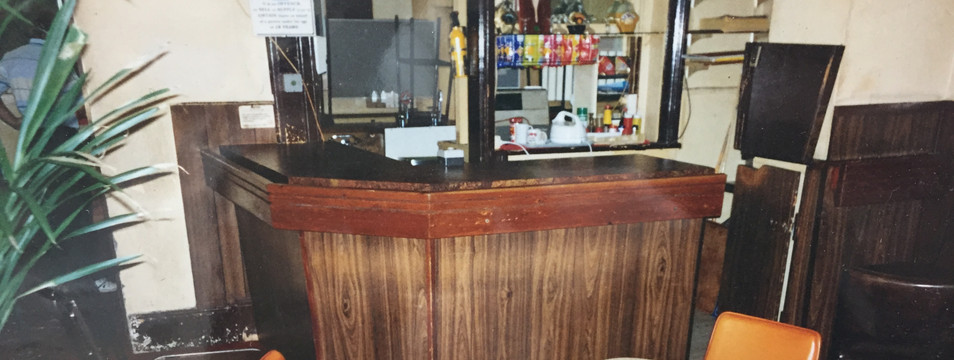 Eatons Hotel 90's front bar