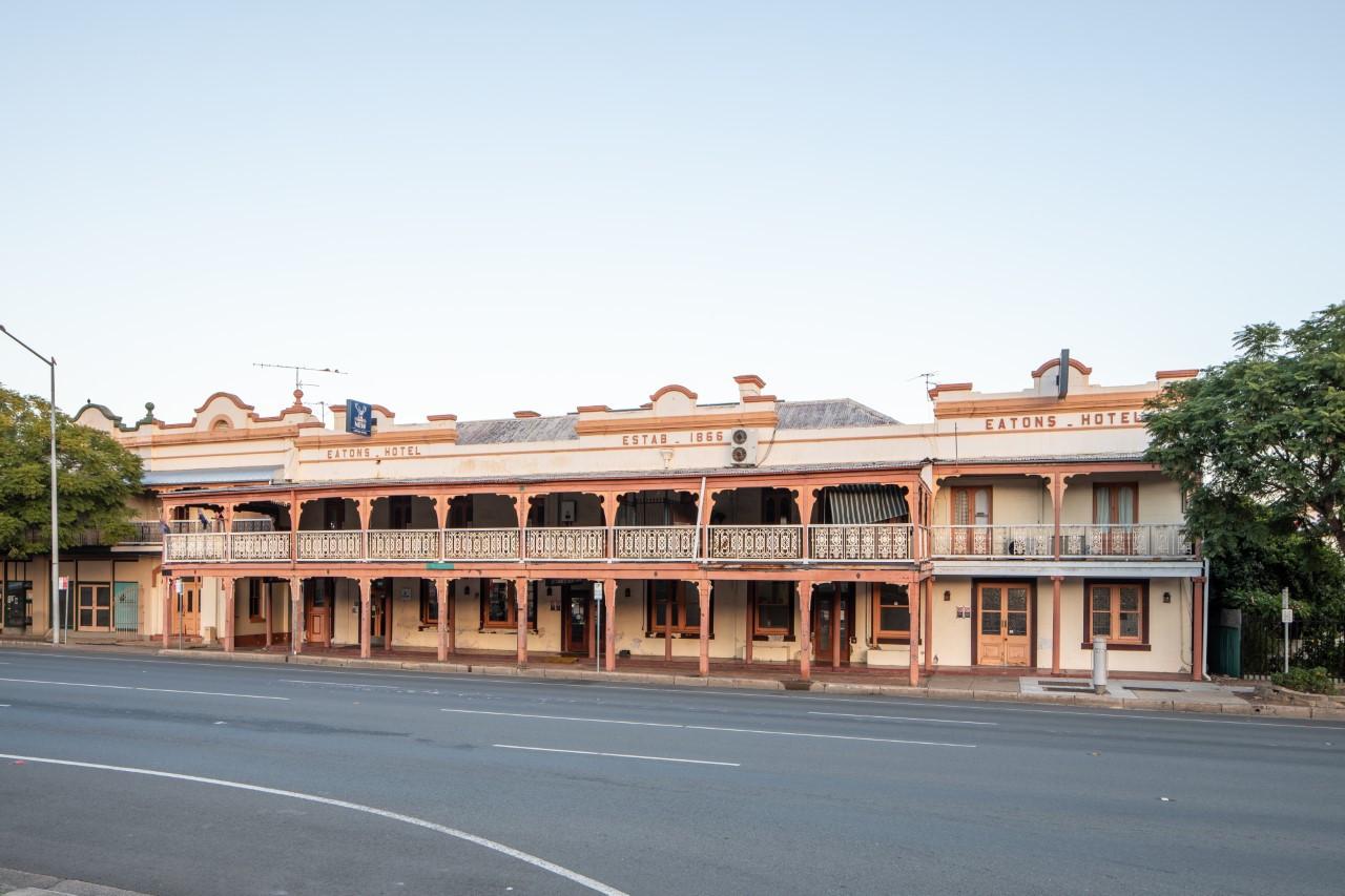 Eatons Hotel 2018 facade