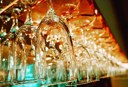 Eatons Hotel Wineglasses