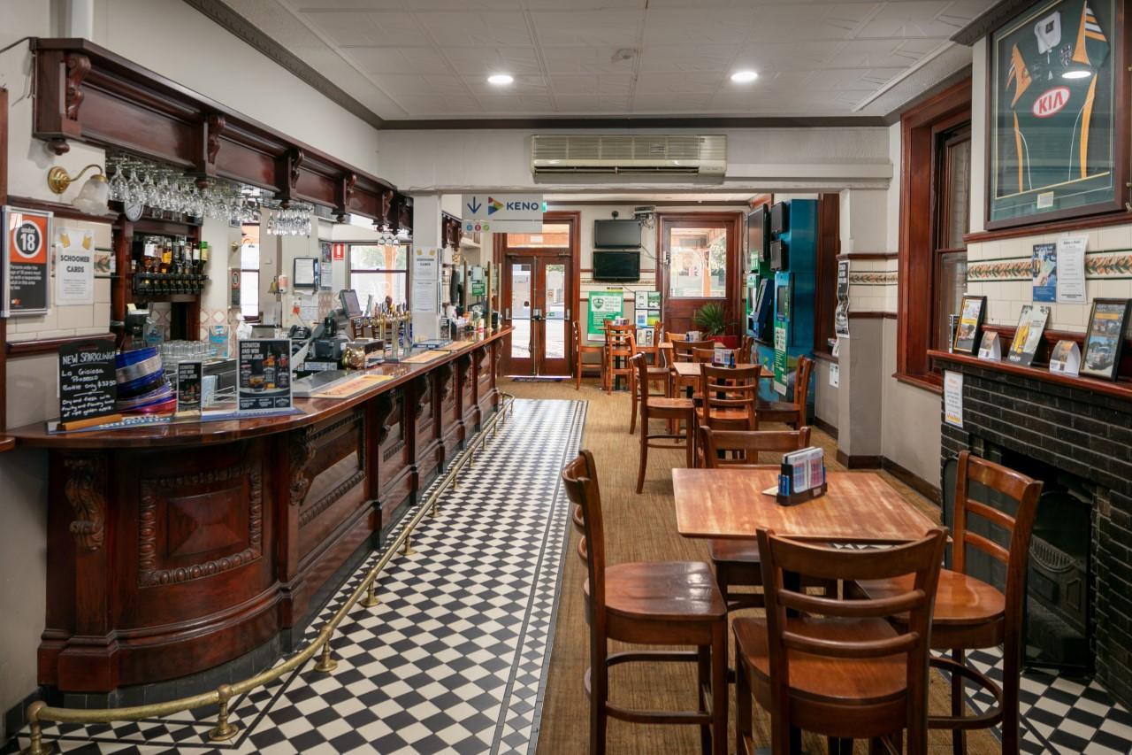 Eatons Hotel 2018 side bar