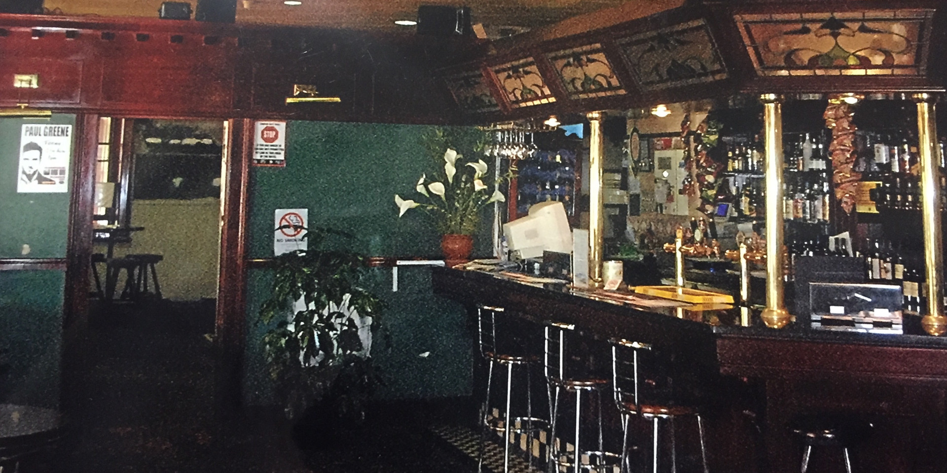 Eatons Hotel 2000's front bar