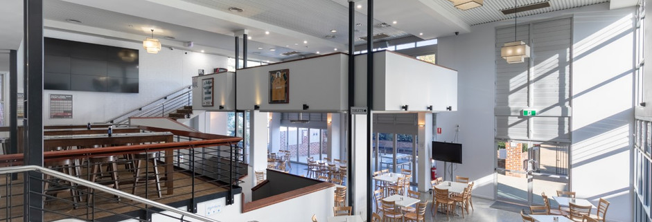 Eatons Hotel 2018 back bar/bistro