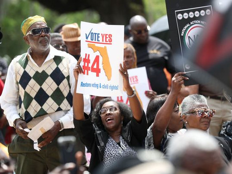 Voter registration numbers increase two-fold after Amendment 4