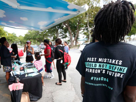 Florida's costly folly to prevent ex-felons from voting