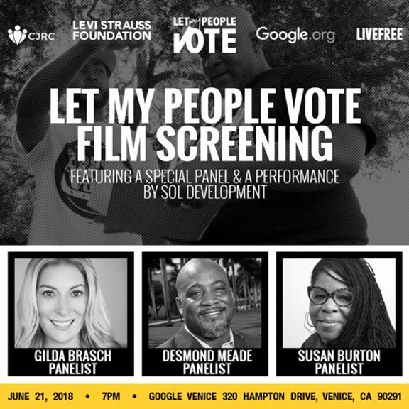 Let My People Vote (A Conversation)