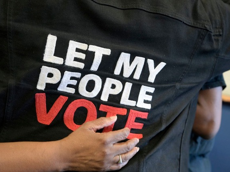 Florida's change to Amendment 4 is travesty and a transgression of the people's will