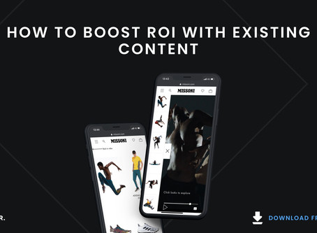 HOW TO BOOST ROI ON EXISTING CONTENT