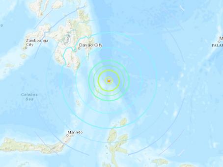 TERREMOTO COM MAGNITUDE 7.1 ATINGE AS FILIPINAS