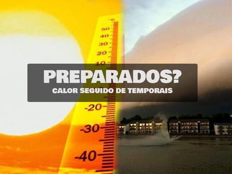 PREPARADOS? ONDA DE CALOR SEGUIDO DE TEMPESTADES