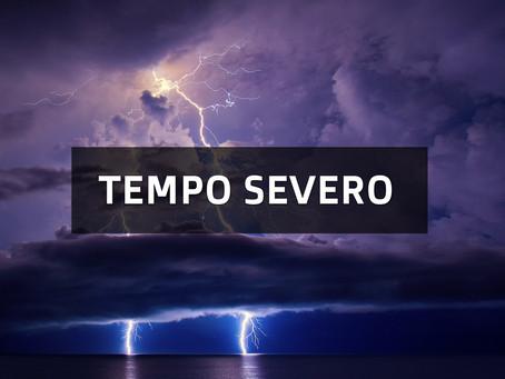 TEMPO SEVERO É ESPERADO NO SUL DO BRASIL