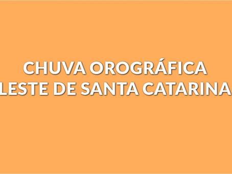CHUVARADA NO LITORAL DE SANTA CATARINA