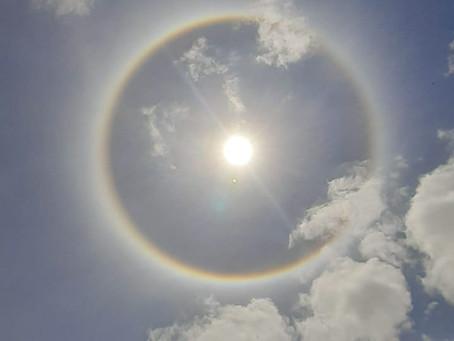 HALO SOLAR DUPLO VISTO EM VÁRIOS MUNICÍPIOS DA REGIÃO SUL DO BRASIL