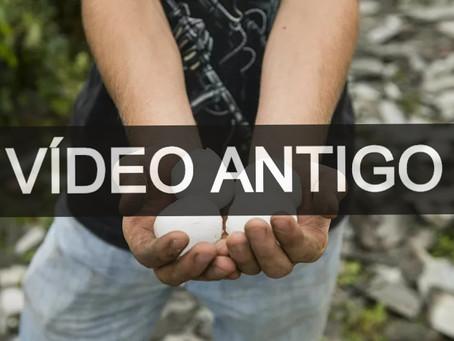 NOTA - VÍDEO DO GRANIZO É ANTIGO!