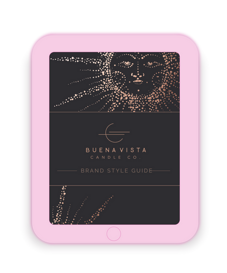 Buena Vista Candle Co. Brand Build