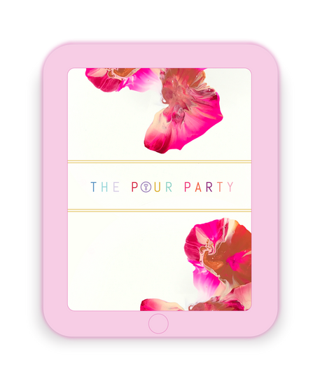 The Pour Party Business Creation + Full Design