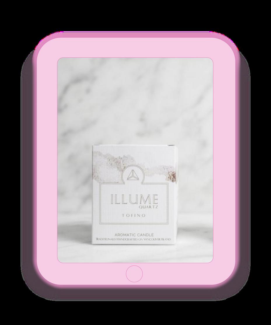 Illume Quartz Candle Package Design