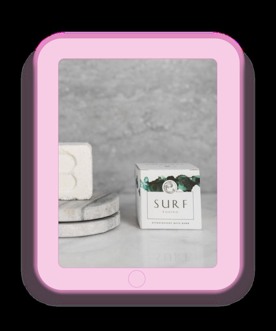 Surf Soap Packaging Design