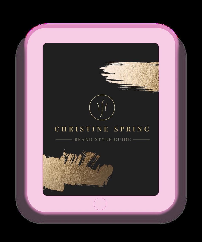 Christine Spring Brand Build