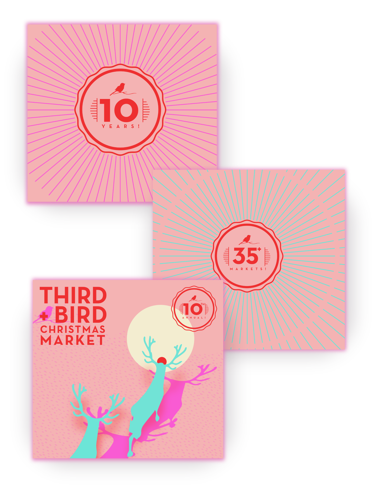 Third + Bird Xmas 2018 Proposed Event Brand