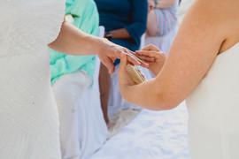 Bridexbride wedding in Mexico