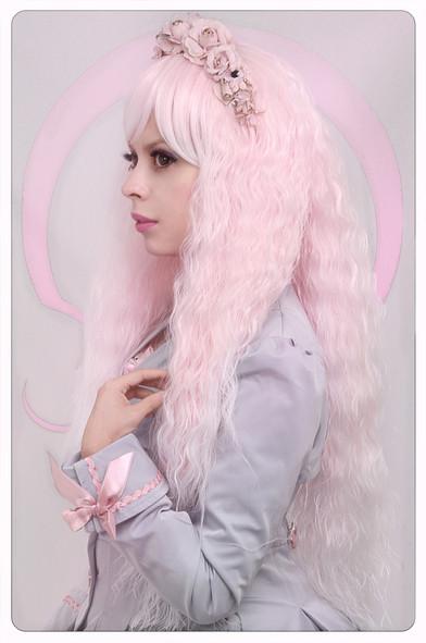 Lolita Fashion Pink Wig