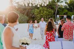 Same-sex wedding in Riviera Maya