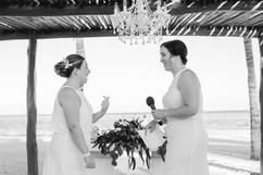 Bridexbride destination wedding