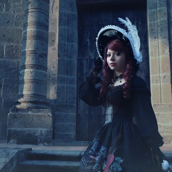 Briz Blossom Lolita Fashion en Panteon de Belén