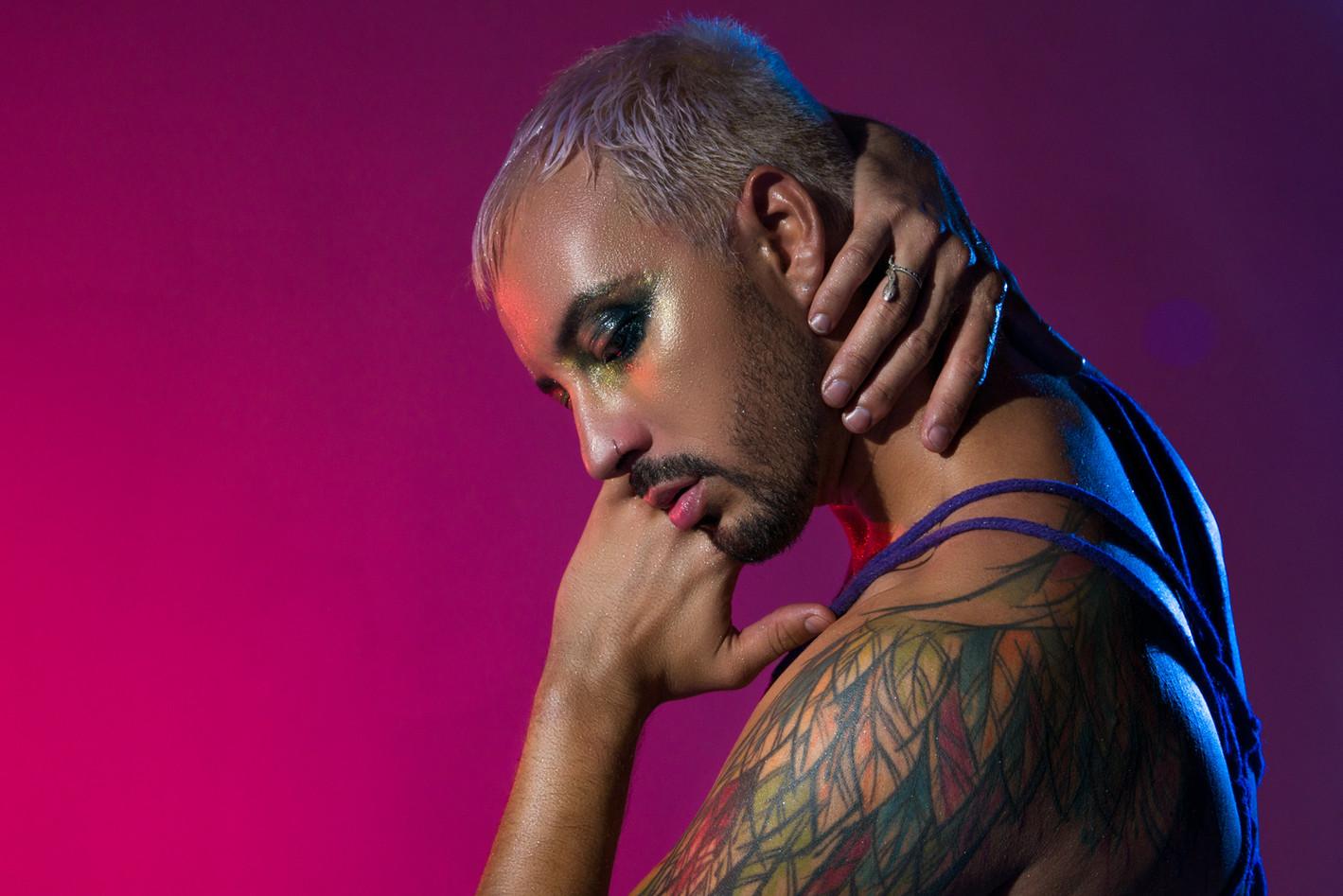 Joshua LGBT Portrait