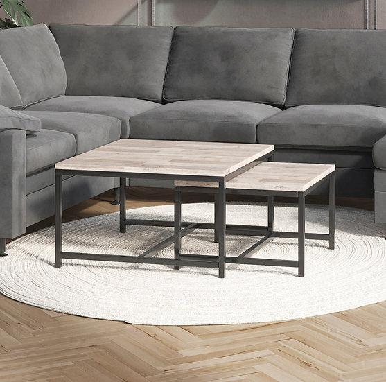 Hauk 80+60 sofabord