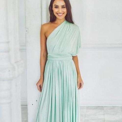 Mint Wrap Dress