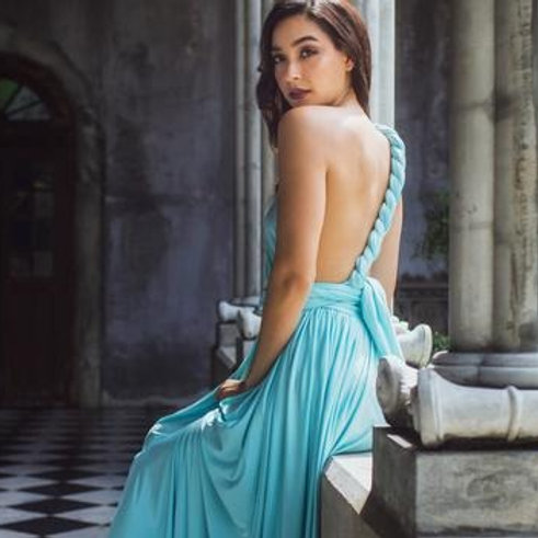 Seashell Wrap Dress