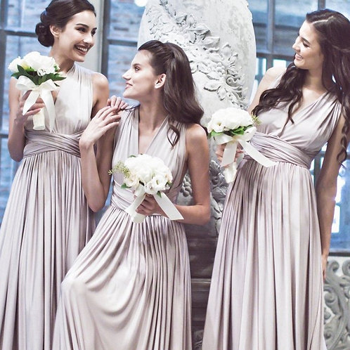 Rose Gold Wrap Dress