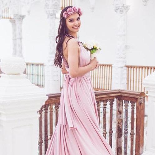 Amnesia Rose Wrap Dress