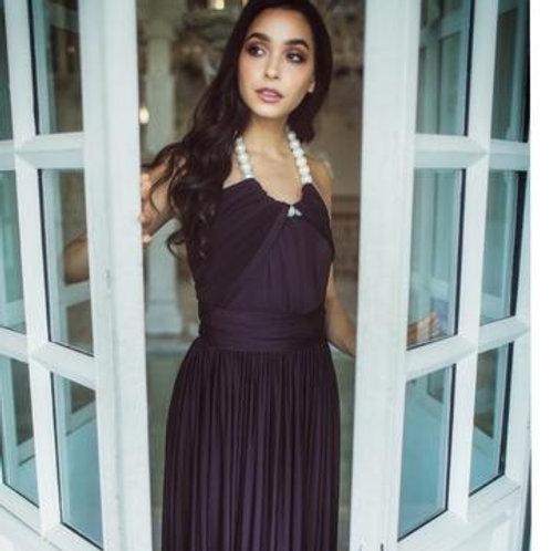 Black Diamond Wrap Dress