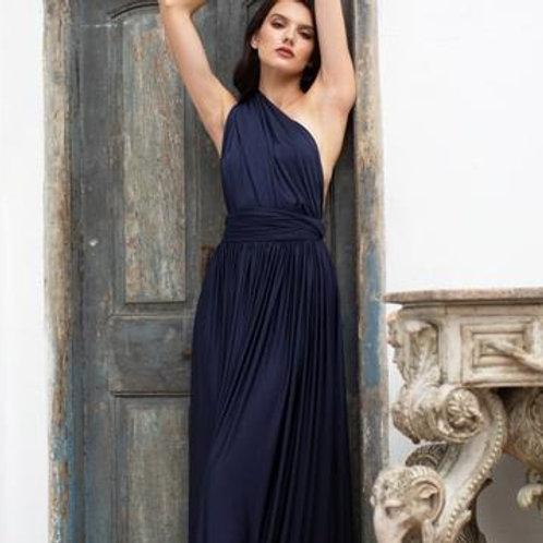 Midnight Wrap Dress