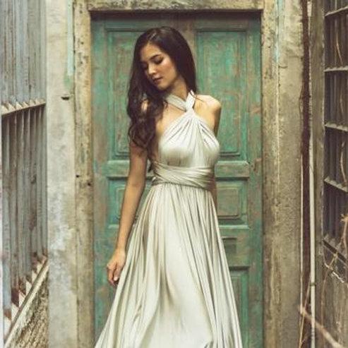Sage Wrap Dress