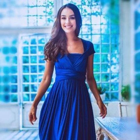 Sapphire Wrap Dress