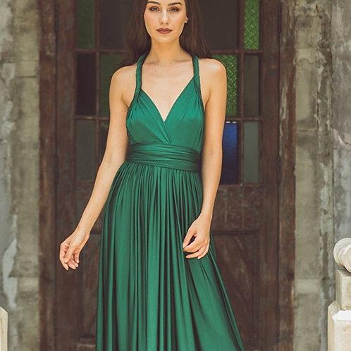 Forest Wrap Dress