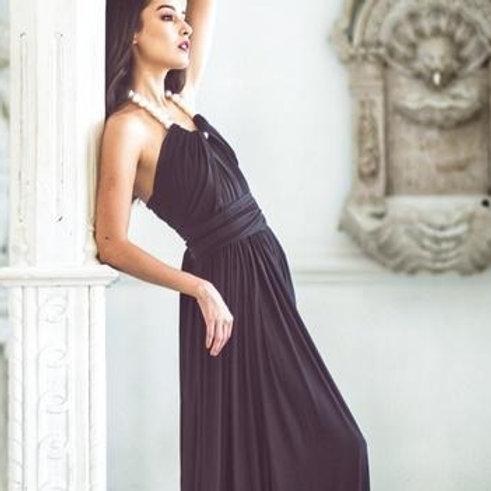 Onyx Wrap Dress