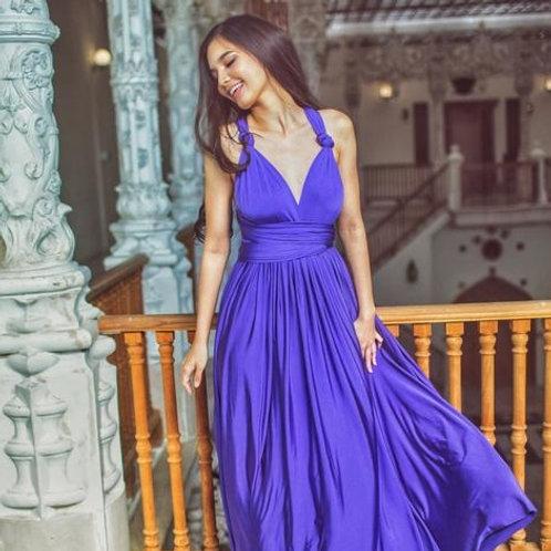 Amethyst Wrap Dress