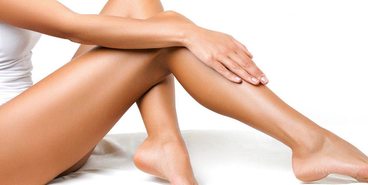 Laserontharing onderbenen