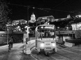 The Socially Distanced Streets of Budapest