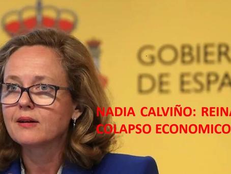 NADIA CALVIÑO: Reina del Colapso Económico Europeo 2020