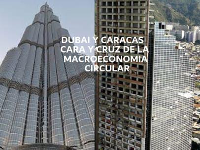 Dubai y Caracas, Cara y Cruz de la Macroeconomía Circular