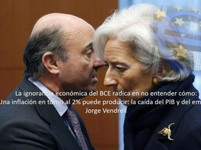 """""""La IGNORANCIA ECONOMICA del BCE"""""""